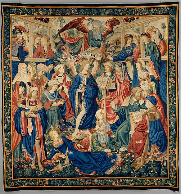 Triunfo de la Fama, c. 1504, 359 x 335 cm, Nueva York, Metropolitan Museum of Art. Fuente: http://www.metmuseum.org/collection/the-collection-online/search/230011?rpp=30&pg=1&ft=triumph+of+fame&pos=2