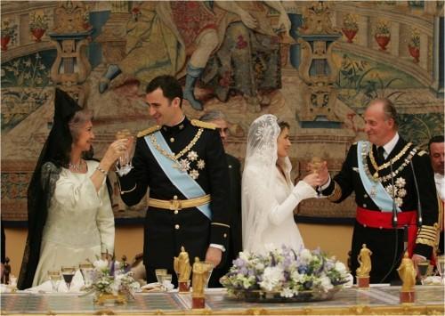© Casa Real. Foto oficial, Boda de SS.AA.RR. Los Príncipes de Asturias